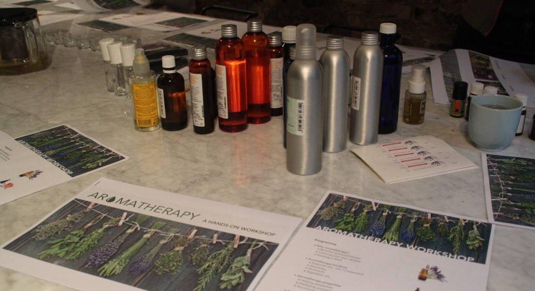 Mon premier atelier d'aromathérapie chez Zita Brussels