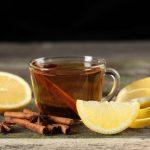 Thé avec épices d'hiver
