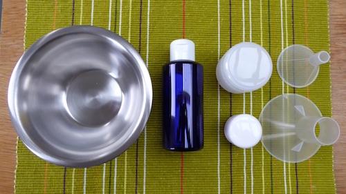 Les ingrédients pour faire ses propres produits de soin bio