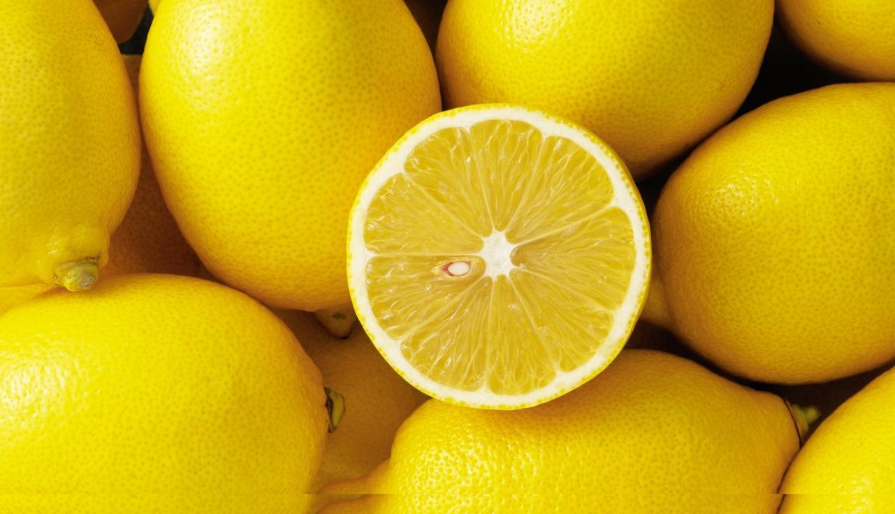 L'essence de citron, pour un effet purifiant