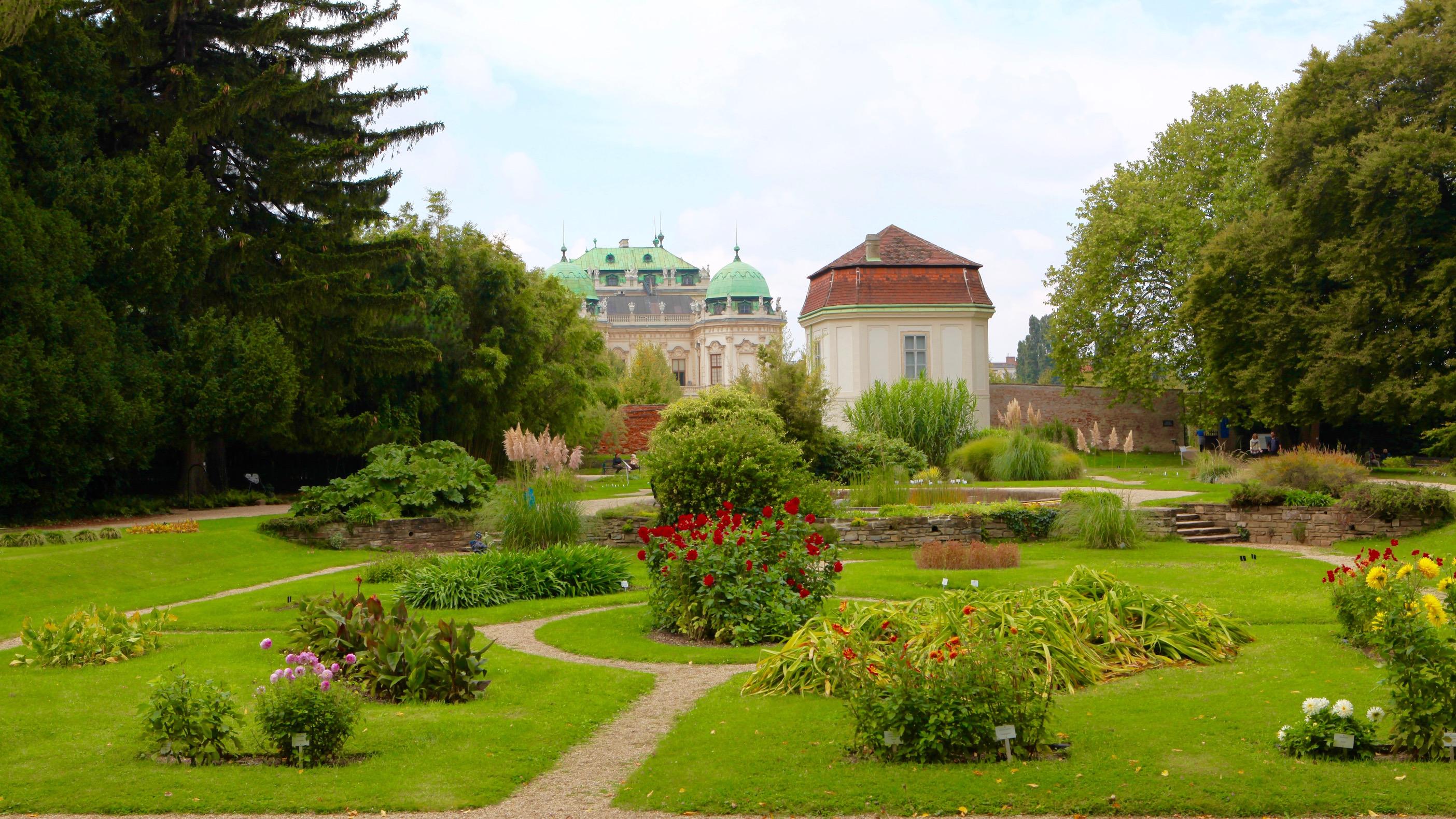 Petite visite au jardin botanique de Vienne