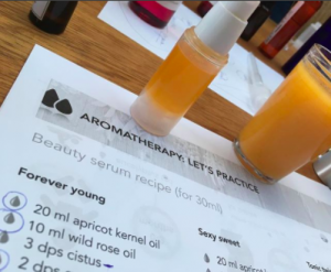aromatherapy workshop Brussels