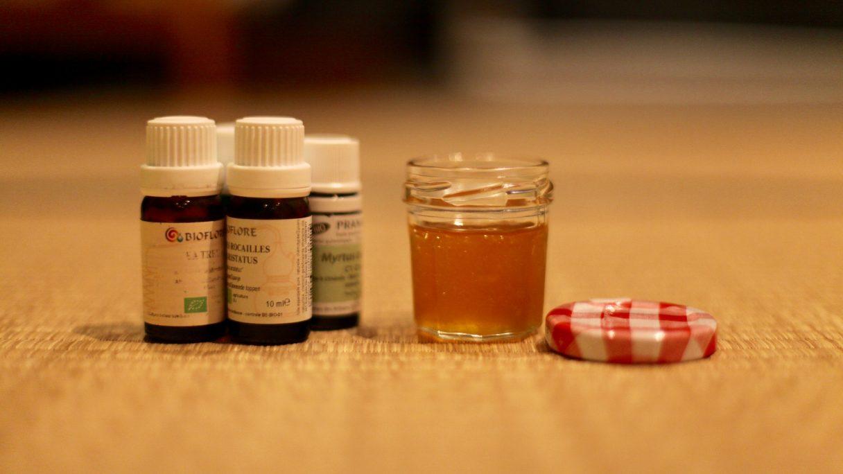 Un miellat aux huiles essentielles pour lutter contre la toux