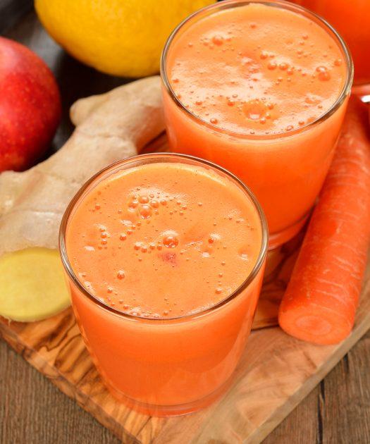 jus frais vitamine du matin