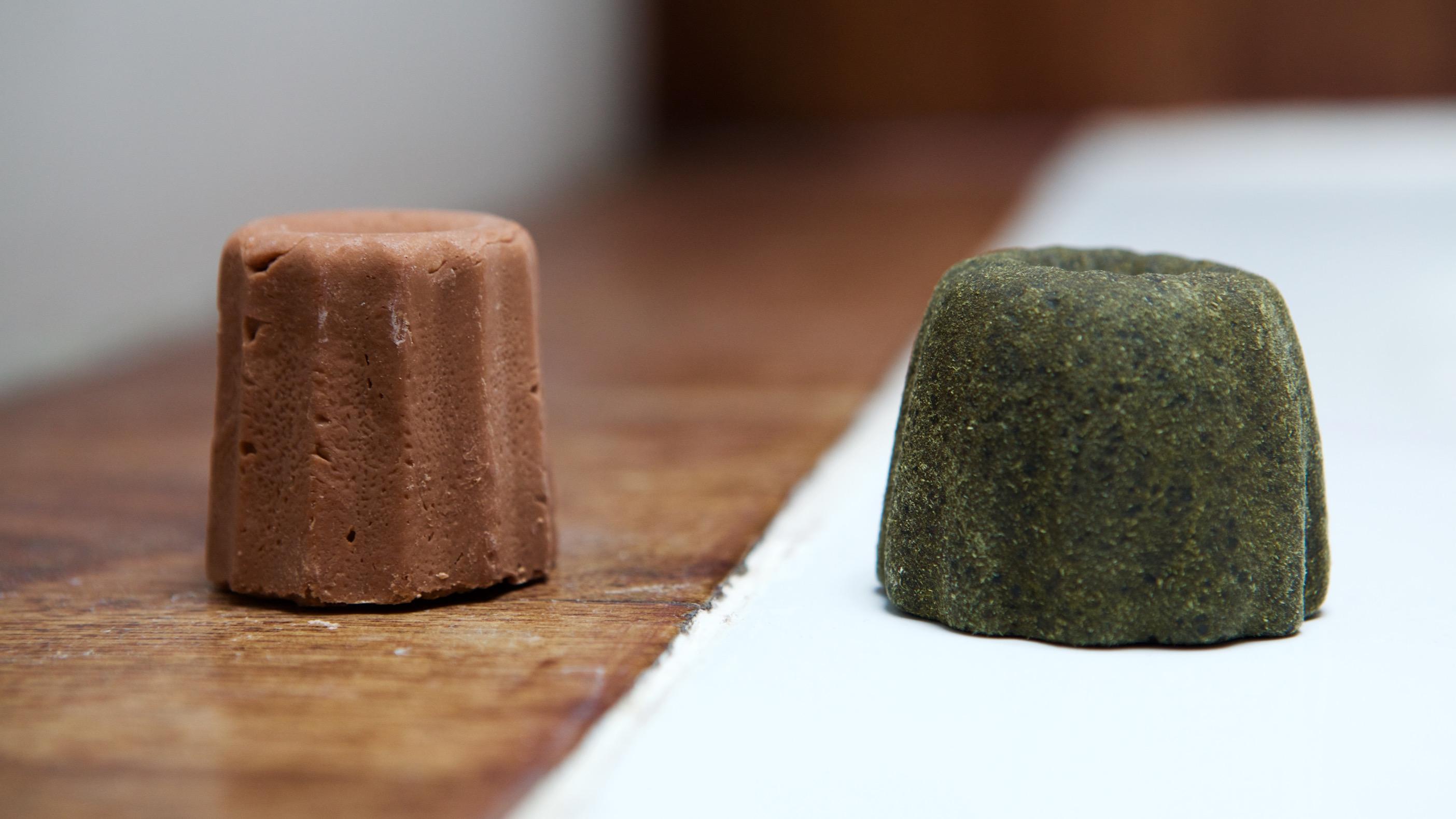 Un shampoing solide fait maison presque 100% naturel