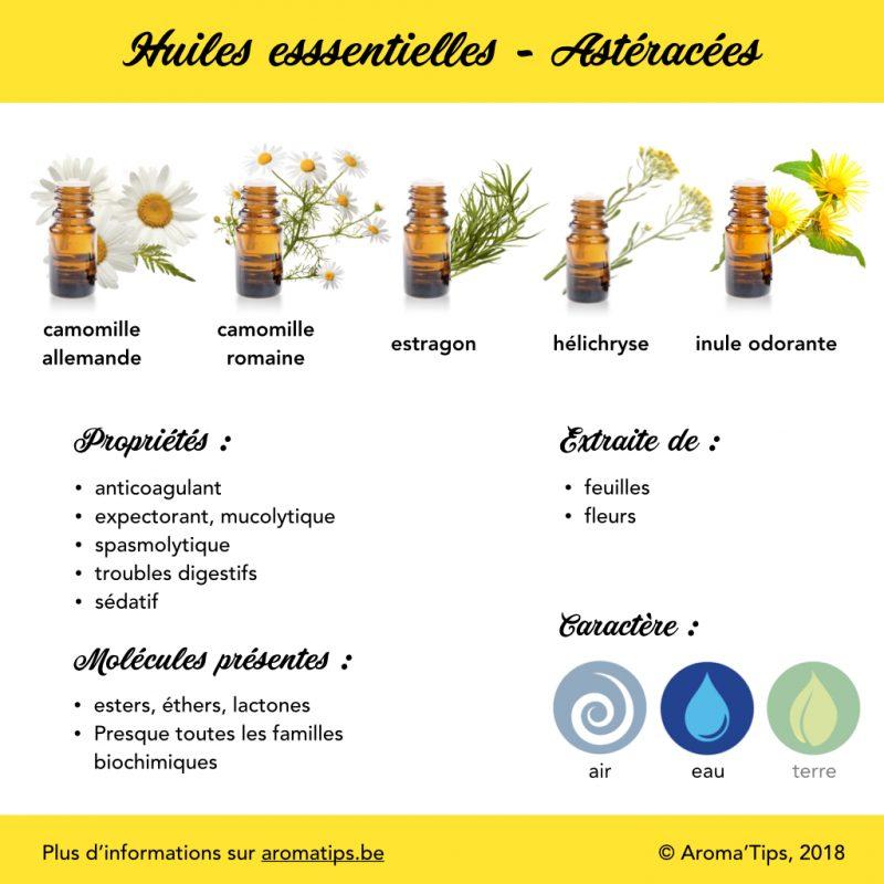 Astéracées en huiles essentielles