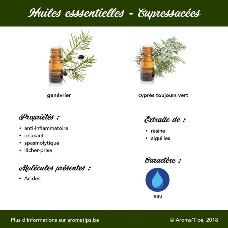 Cuprecassées en huiles essentielles