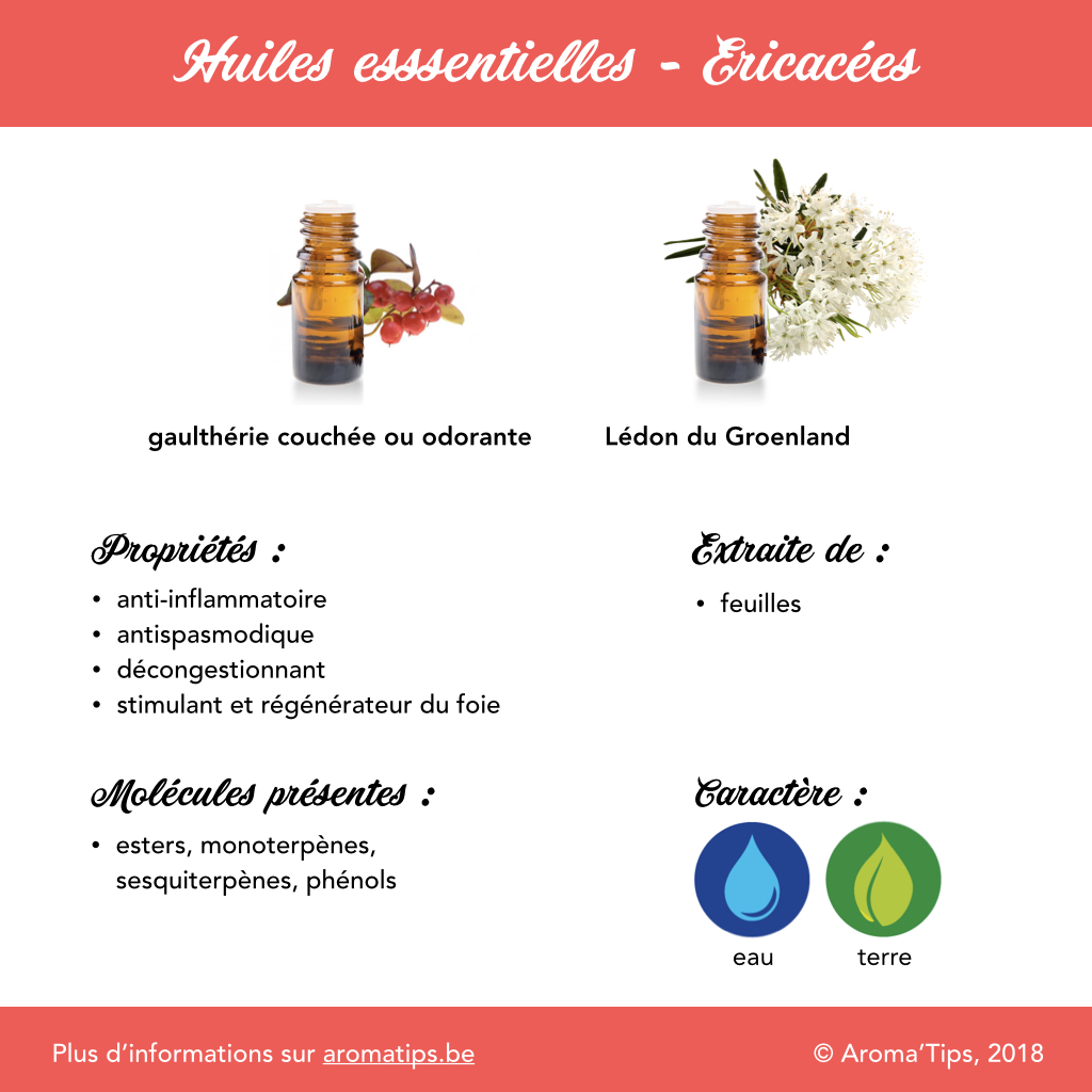 Ericacees en huiles essentielles