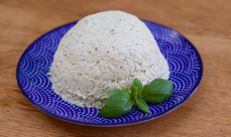 Un fromage vegan à base de noix de cajou