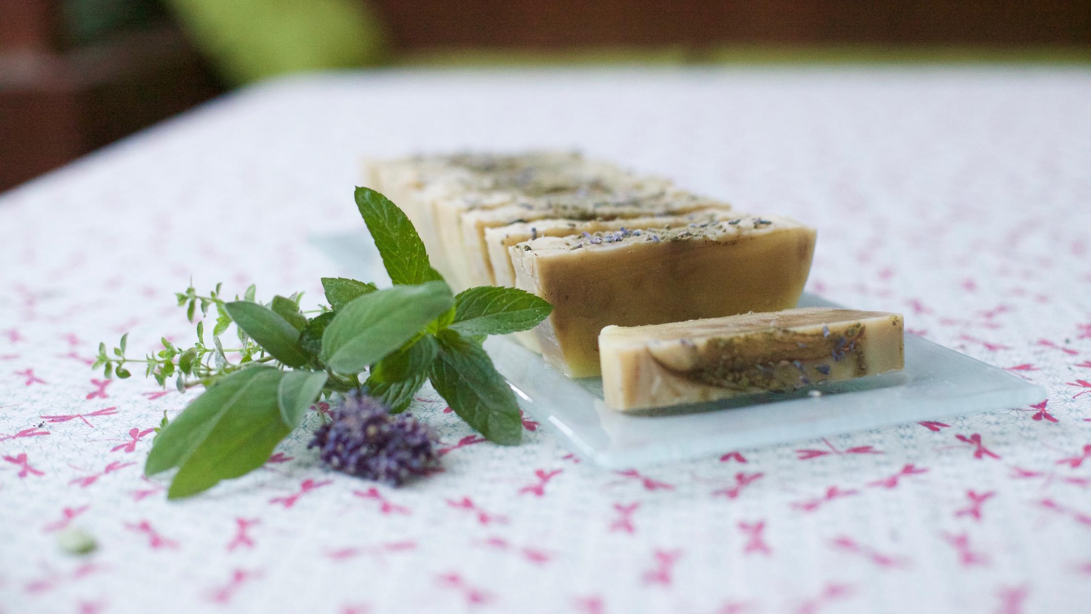 Un savon botanique tout doux aux senteurs de Provence