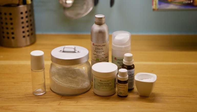 Un déodorant roll-on naturel efficace et facile à faire