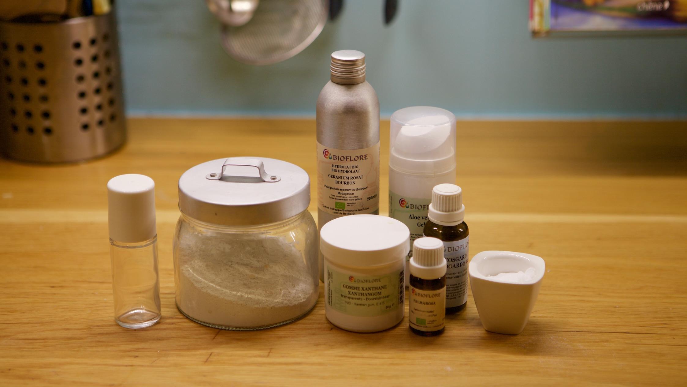 deodorant naturel roll-on fait maison
