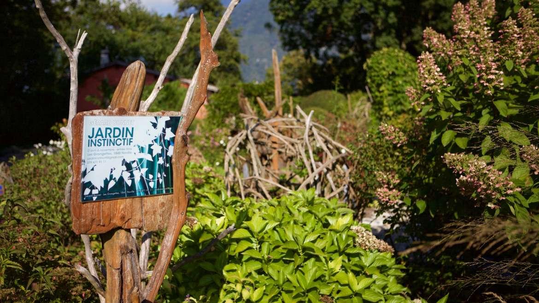 Le jardin instinctif du bout du lac Léman
