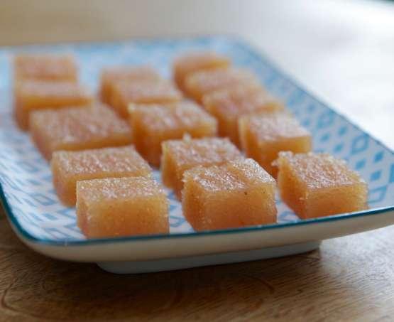 Recette traditionnelle de la pâte de coing