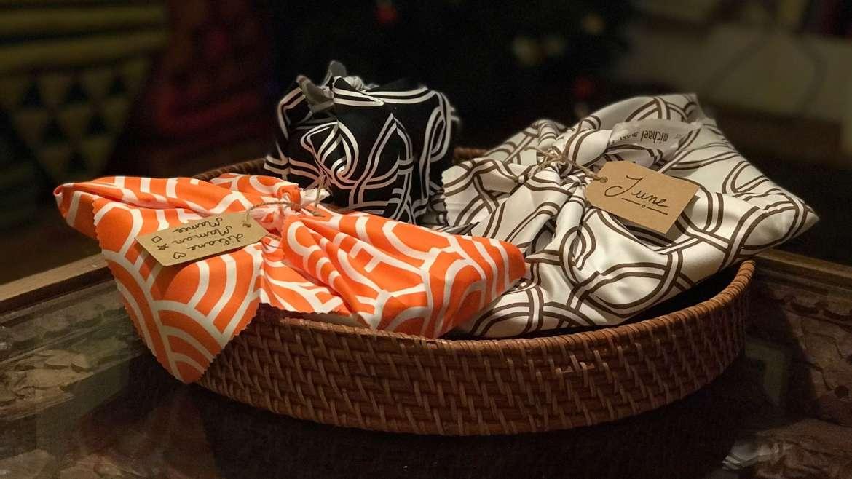 Des emballages cadeaux en tissu : comment faire un furoshiki ?