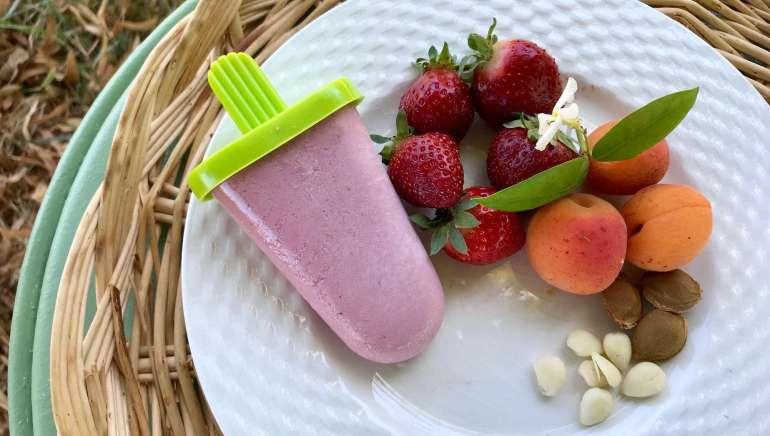 Faire ses glaces aux fruits saines et sans sorbetière pour l'été