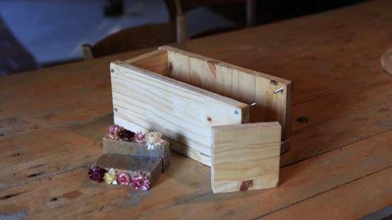 Fabriquer son propre moule à savon en mode zéro déchet