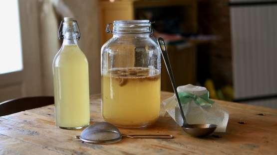 Une boisson gazeuse saine et digeste : le kéfir d'eau ou kéfir de fruit
