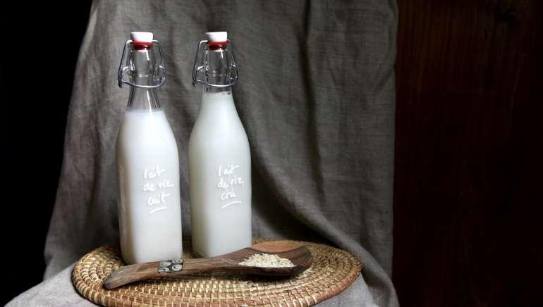Faire son lait de riz maison facilement
